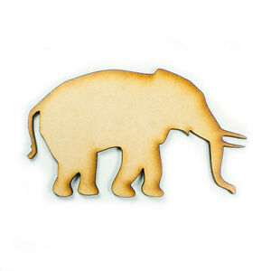 MDF-Wood-Wooden-Shape-Shapes-Elephant-Cutout-Craft-Home-Room-Decor-for-Fun