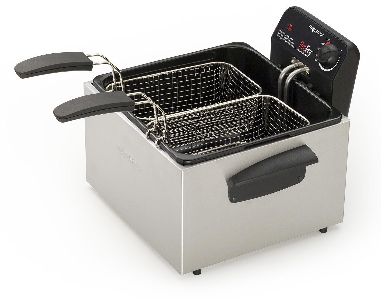Presto 05466 Dual ProFry Deep Immersion Fryer