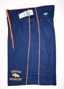 NFL Majestic Men s Denver Broncos Navy TX3 Cool Synthetic Shorts  8bb19e11b