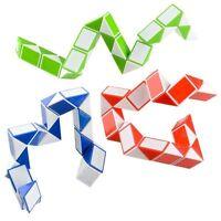 (3) Twist Puzzle Snake Brain Teaser Fidget Toy Stress Relief For Kids