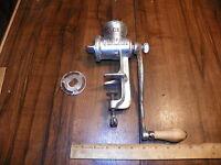 Vintage CLIMAX 51 Hand Crank TableTop Meat Grinder / Food Chopper