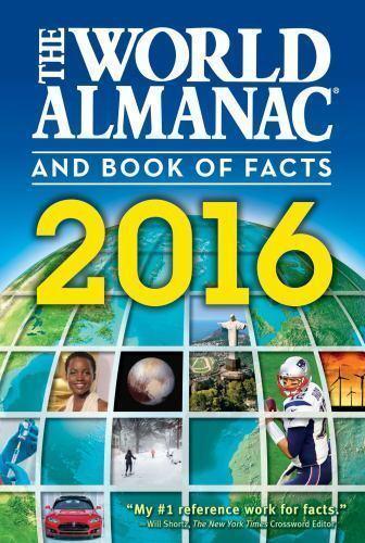 El mundo Almanaque y libro de los hechos 2016 por, libro en rústica