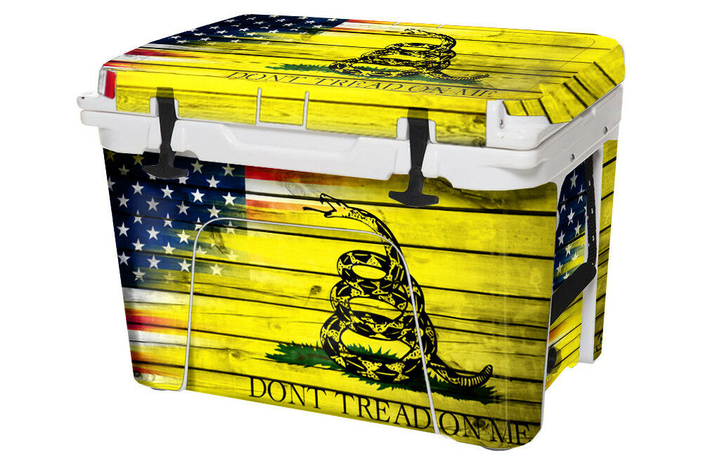 USATuff Wrap Full Kit fits Custom YETI Roadie 20qt Cooler USA Don't Tread Farbe