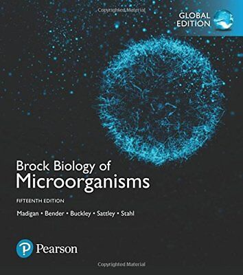 brock biology of microorganisms by kelly s bender daniel h rh ebay com Microbiology Study Guide Drawing Microbiology Study Guides and Answers