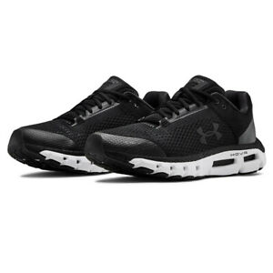 Under-Armour-Mens-HOVR-Infinite-Running-Shoes-Trainers-Black-Sports-Breathable