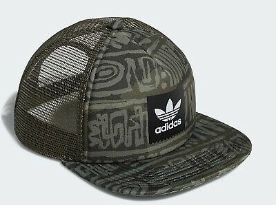 Adidas Originals Dakari Trucker Cap Hat Mesh Snap Back Mens Womens New Green QualitäT Zuerst