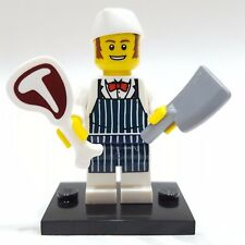 NEW Minifig Cleaver /& Meat Series 6 LEGO Butcher Collectable Minifigure