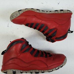 Nike-Air-Jordan-10-X-Retro-Bulls-Over-Broadway-Gym-Red-Black-705178-601-size-8-5