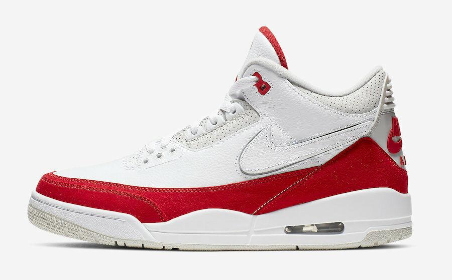 Nike Air Jordan 3 Retro TH SP SZ 12 Tinker Max 1 White Fire Red OG CJ0939-100