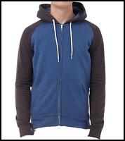 Mens Brave Soul Hoodie Jacket Zip Up Hooded Sweater Large