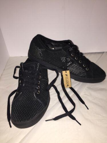 Dela Größe Footwear Vlado Lederschuhe 8 der Perforierte Männer Schwarze 7 5 Frauen 5X5wx