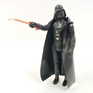 Vintage-Darth-Vader-Star-Wars-3-75-034-Action-Figure-w-Lightsaber-amp-Tip-Cape-1977