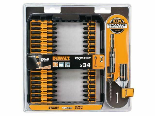 DEWALT - DT70561T Impact Torsion Set + 3in Holder 34 Piece
