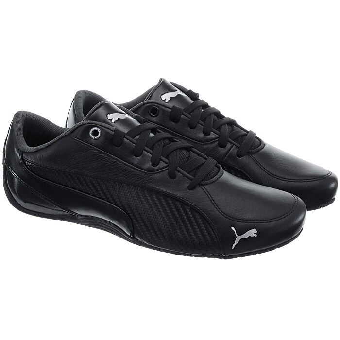 Puma Drift Sneaker Cat 5 Carbon schwarz Herren Motorsport Fashion Sneaker Drift Schuhe NEU 81714d