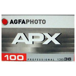 Agfa APX 100 Película Blanco y Negro 36exp