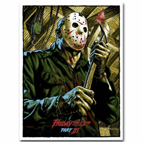 59097 Horror Jason Friday The 13th Wall Print POSTER CA