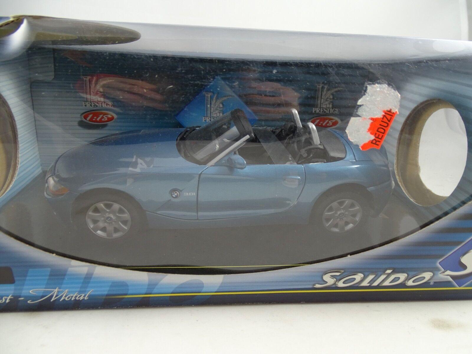 1:18 Solido  8160 BMW Z4 Blu Metallico Rarità §