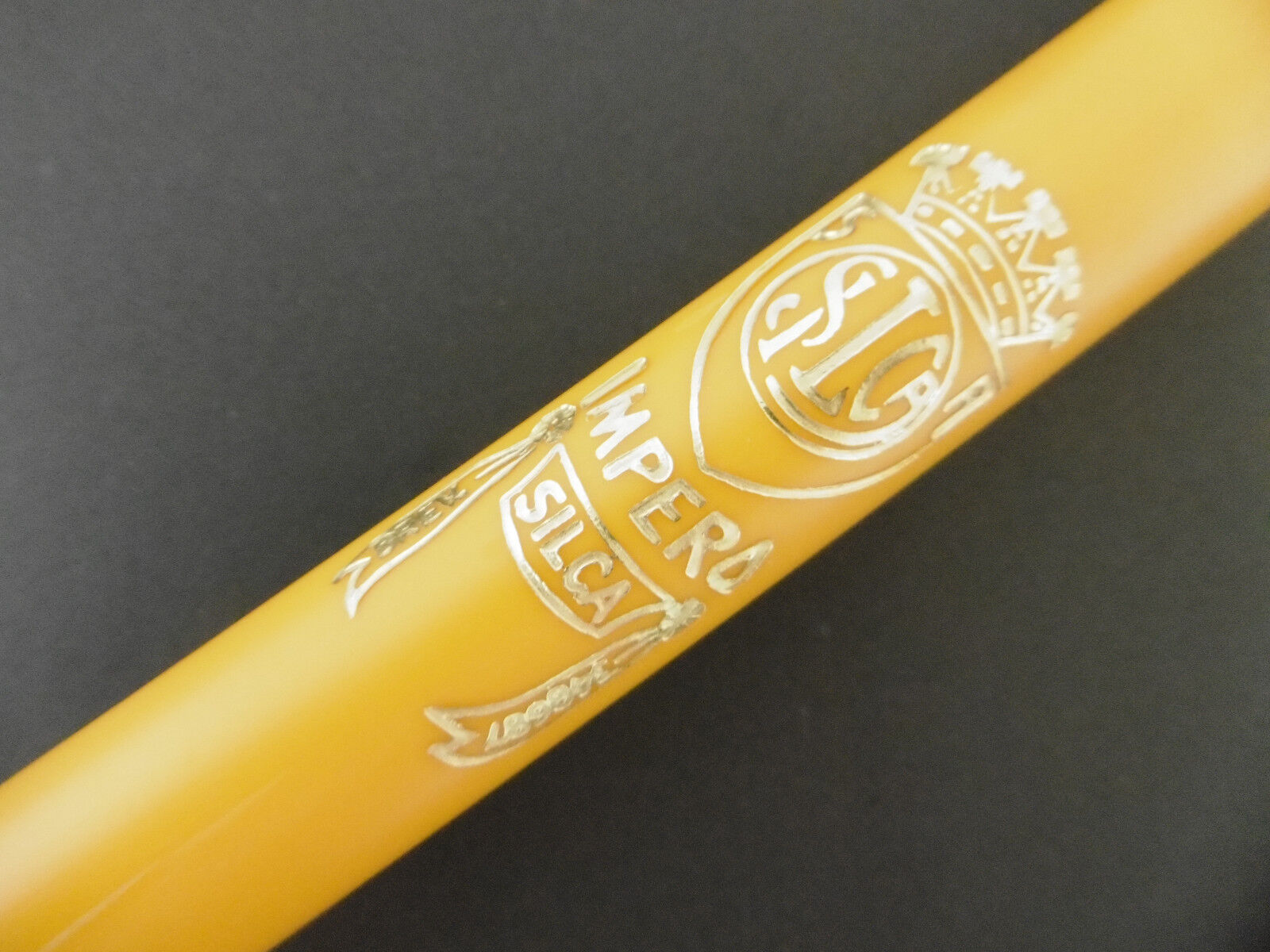 New pump Silca Impero Brevettato road bicycle  bike yellow  presta dunlop 590mm  enjoy saving 30-50% off