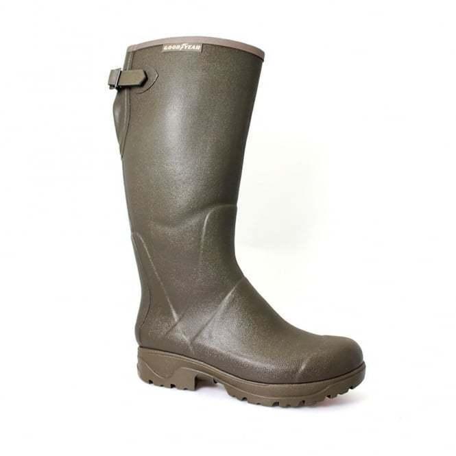 Unisex Goodyear Stream Neoprene Lined Wellington Boot Wellies