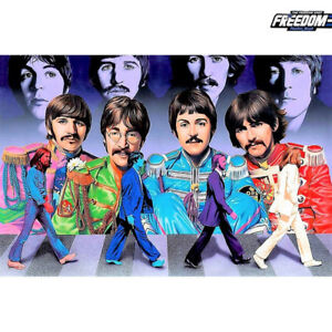 Forever Beatles 5 D Diy Diamond Painting by Unbranded