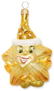 Slavic-Treasures-GOLD-HAPPY-STAR-Polish-Glass-Ornament