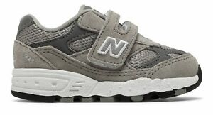 New-Balance-Kid-039-s-993V1-Hook-And-Loop-Infant-Boys-Shoes-Grey-With-White