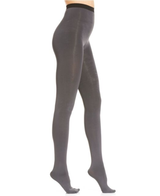 838T9 DKNY 0B925 Opaque Control Top Tights Pack of Two Black Size Small