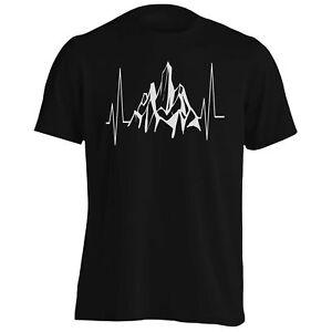 Mountains-Heartbeat-Men-039-s-T-Shirt-Tank-Top-t209m