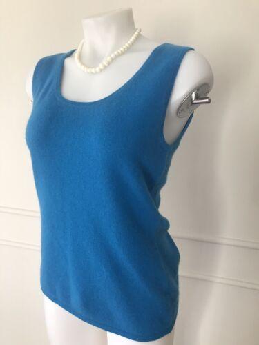 Marcus Gilet Collection Femme Neiman Cashmere Aqua Bleu Nwt M Taille WpOP7
