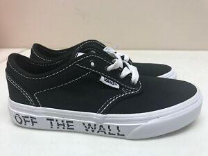 Kid's Vans Atwood (Printed) Black Off The Wall | eBay