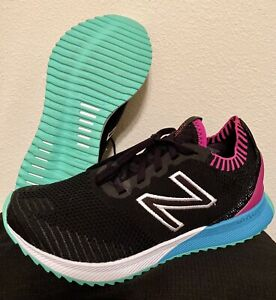New-Balance-Womens-Fuelcell-Echo-WFCECSB-Black-Running-Shoes-Lace-Up-Size-8-B