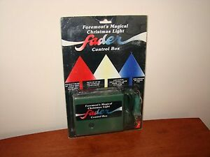 image is loading vintage foremost magical christmas light fader control box