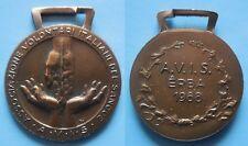 medaglia avis donatori di sangue Erba 1988