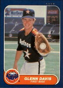 Details About 1986 Fleer Baseball Base Singles 297 550 Pick Your Cards