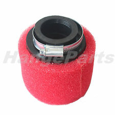 Red Foam 39mm Air Filter Cleaner for 125cc Go Kart 125cc 200cc ATV Dirt Pit Bike