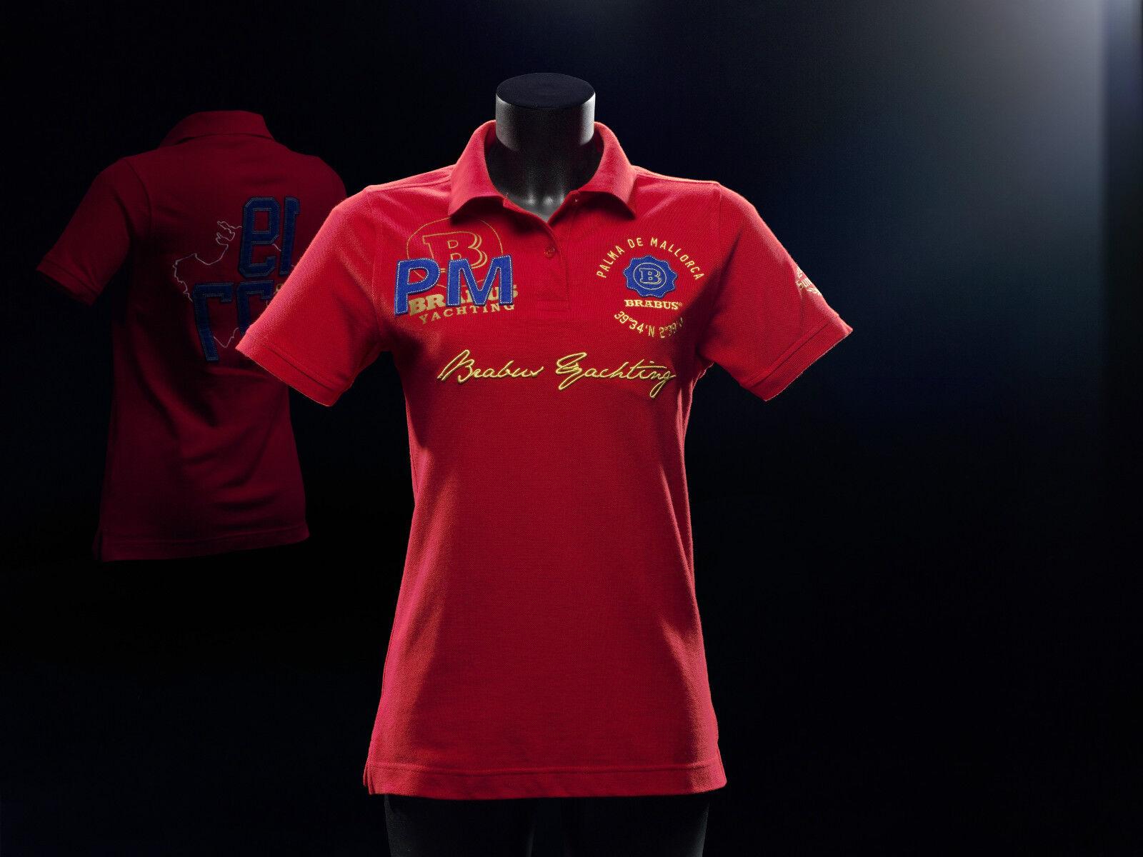 BRABUS Yachting Poloshirt  für Damen in Größe 38 ( Rot )