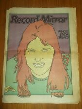 RECORD MIRROR MARCH 25 1978 WINGS LINDA MCCARTNEY ELO BONNIE TYLER ELTON JOHN