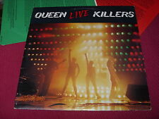 Queen:  Live Killers  UK  First Pressing  EX   4/1-U/1-U/1-U   LP
