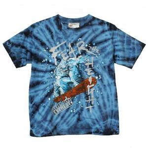 Disney Kid/'s T-Shirt Fear the Height in Blue KIDS SIZE..KIDS SHIRT..