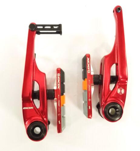 BOX ECLIPSE PRO BMX BIKE V-BRAKES RED