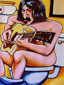 FRANK-ZAPPA-PRINT-poster-mothers-of-invention-joe-039-s-garage-guitar-uncle-meat-cd