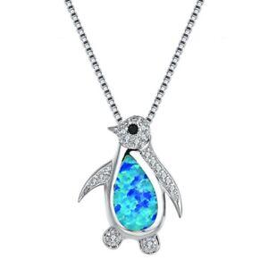 Mode-opal-simuliert-diamant-pinguin-anhaenger-halskette-frauen-charme
