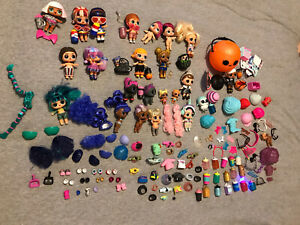 HUGE-LOT-Of-LOL-Surprise-Dolls-With-Accessories-amp-Some-Clothes