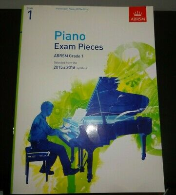 ABRSM Initial Piano 2021-22 Selected Exam Pieces Sheet Music Book