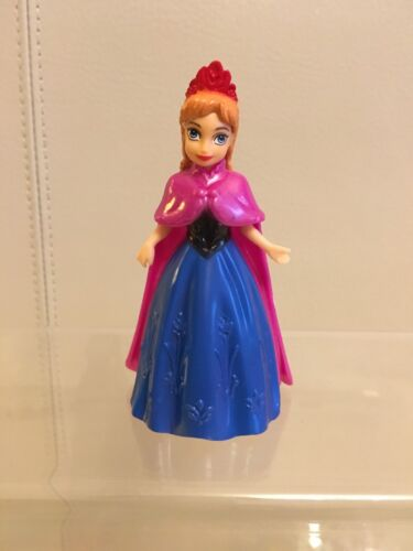 cake topper figurine 007A Anna From Frozen Pocket Style Magic Clip