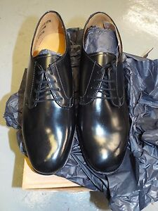 8d02ef831e236 Details about WOMEN'S BLACK LEATHER WORKING PARADE GIBSON SHOES - Sizes ,  British Army NEW