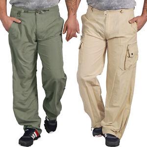 REGATTA Pour Homme Doublé Action Marche Randonnée Eau Répulsif Pantalon Noir 28Wx33L