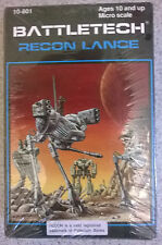 Ral Partha Battletech 10-801 Recon Lance (Phoenix Hawk, 2x Locust, Stinger) Mint