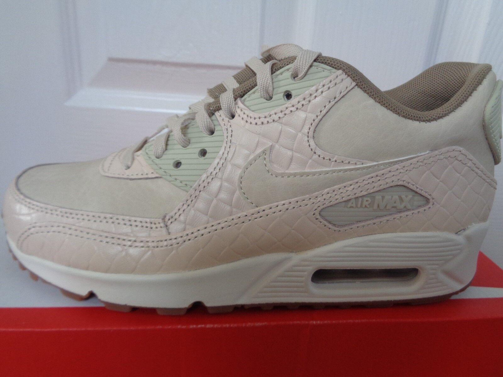 Nike Air Max 90 Prem Wmns Zapatillas Zapatos 443817 105 nos 6 Nuevo + Caja