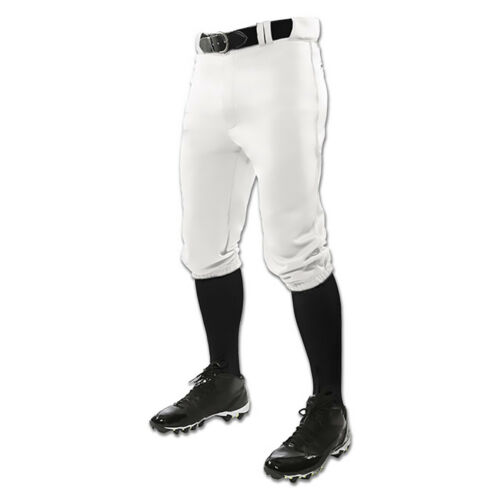 NEW White Champro Triple Crown Knicker Adult Baseball Pants Lists @ $30